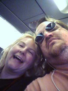 JEM and I on Plane